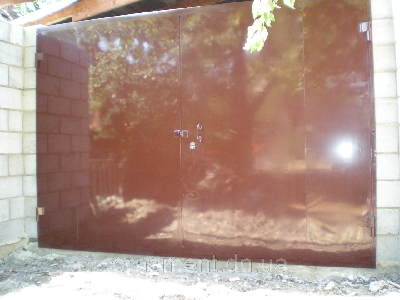 Ворота гаражные 3 мм
