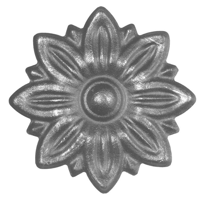 50.052 Цветок 95х1,5 ШТАМПОВАННЫЙ