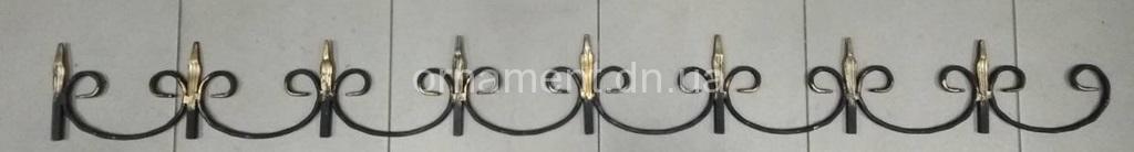 Декоративная верхушка «Фриз» 1500х150