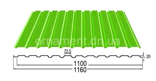 ПС-ПК 20 Zn Цинк без полимерного покрытия