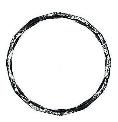 Кольца из вальцованного квадрата 12 мм