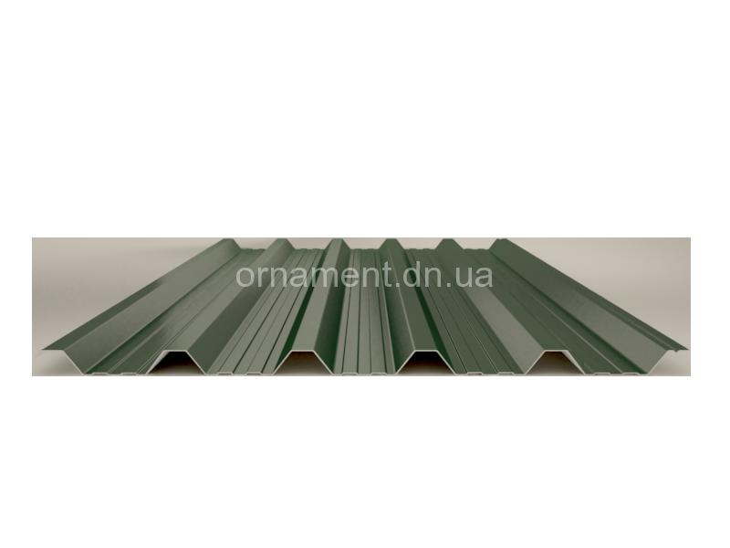 НС 35_1 Кровельно — стеновой Zn (Цинк) без полимерного покрытия