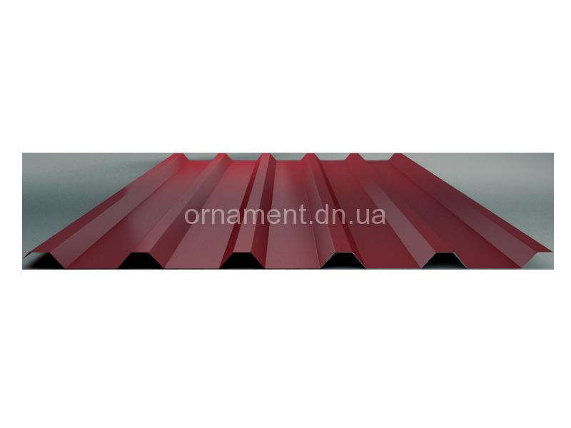 НС 35 Кровельно — стеновой RAL (шоколад, вишня, зелёный, бежевый, синий, серебро)